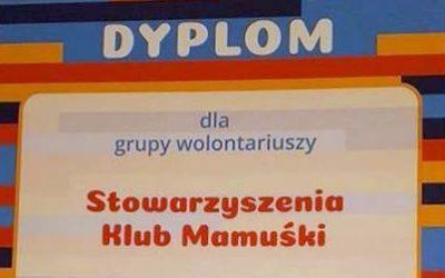 Klub Mamuśki wyróżniony w konkursie WOW!