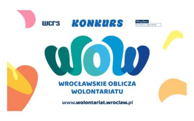 """Klub Mamuśki zgłoszony do konkursu """"Wrocławskie Oblicza Wolontariatu"""""""