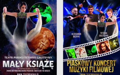 Klub Mamuśki patronem medialnym trasy Teatru Piasku