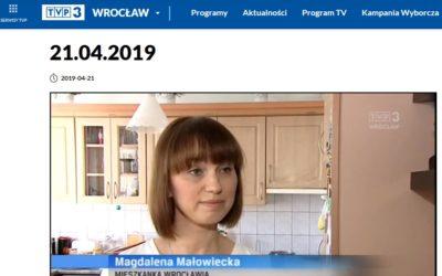 Święta z Klubem Mamuśki w Faktach TVP Wrocław