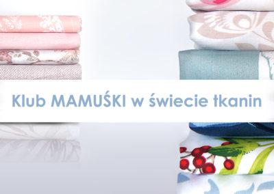 Klub Mamuśki w świecie tkanin /27.02.2020